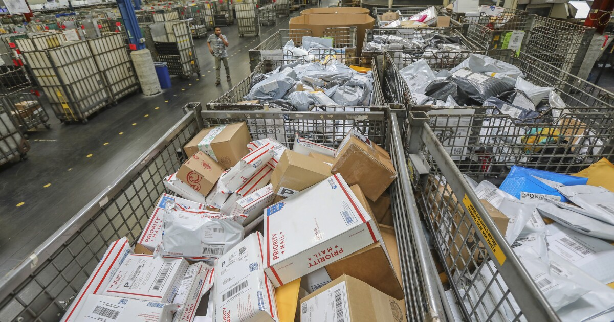 'Like Armageddon': Rotting food, dead animals and chaos at postal facilities amid cutbacks