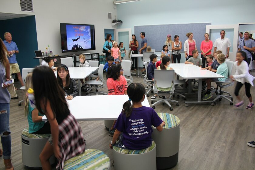 A School Facilities Improvement District bond could help bring modern learning studios like Carmel Del Mar's to all DMUSD schools.