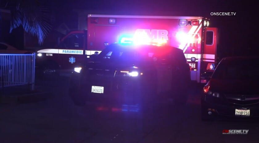 Police, firefighters and paramedics responded Friday night to Shelltown where a man was shot in an alley.
