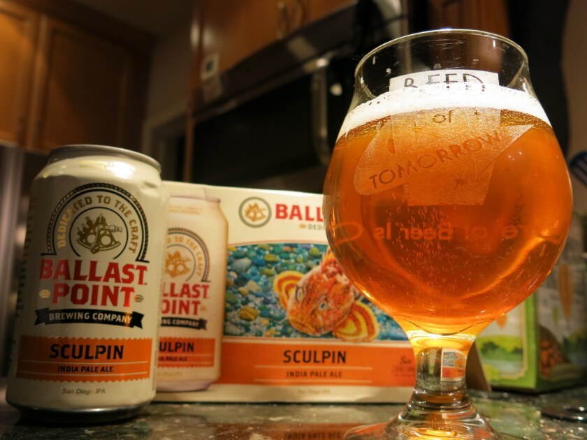 Sculpin, first brewed in 2005, is Ballast Point's flagship beer.