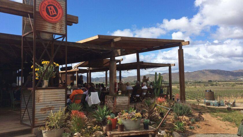 Finca Altozano Restaurant, courtesy of Baja Test Kitchen