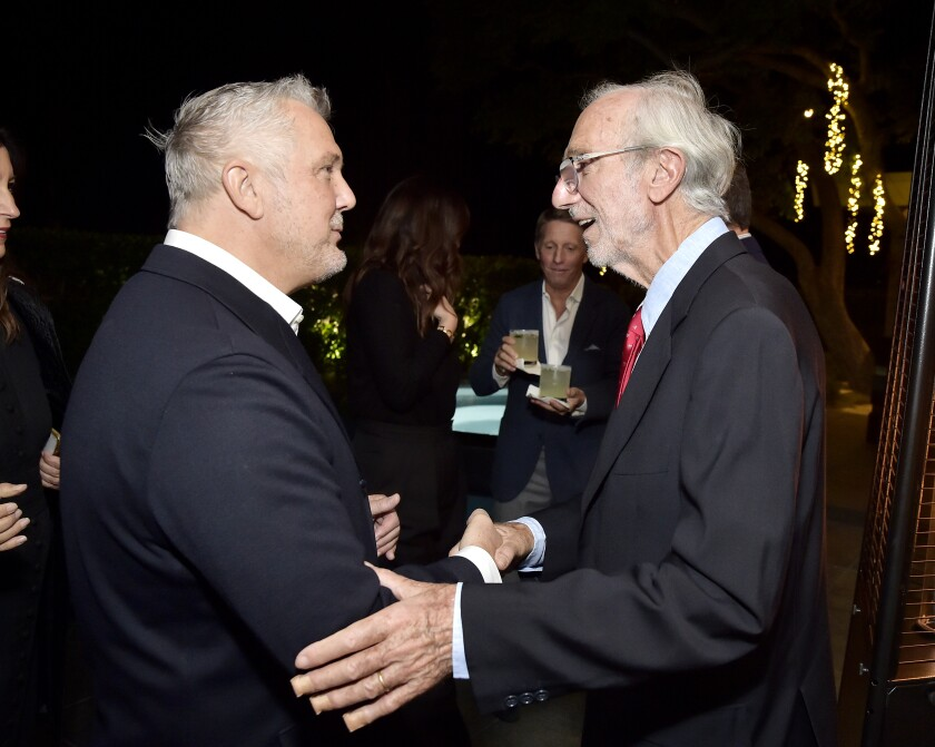 Academy Museum of Motion Pictures celebrates architect Renzo Piano, hosted by Bob Iger, at the home of Zoë and Olivier de Givenchy