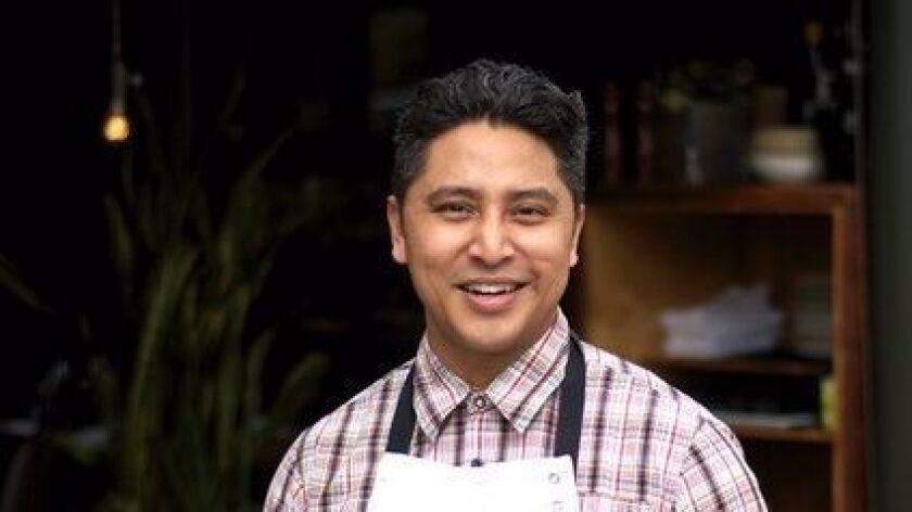 Chef de cuisine Andrew (Dru) Betita.