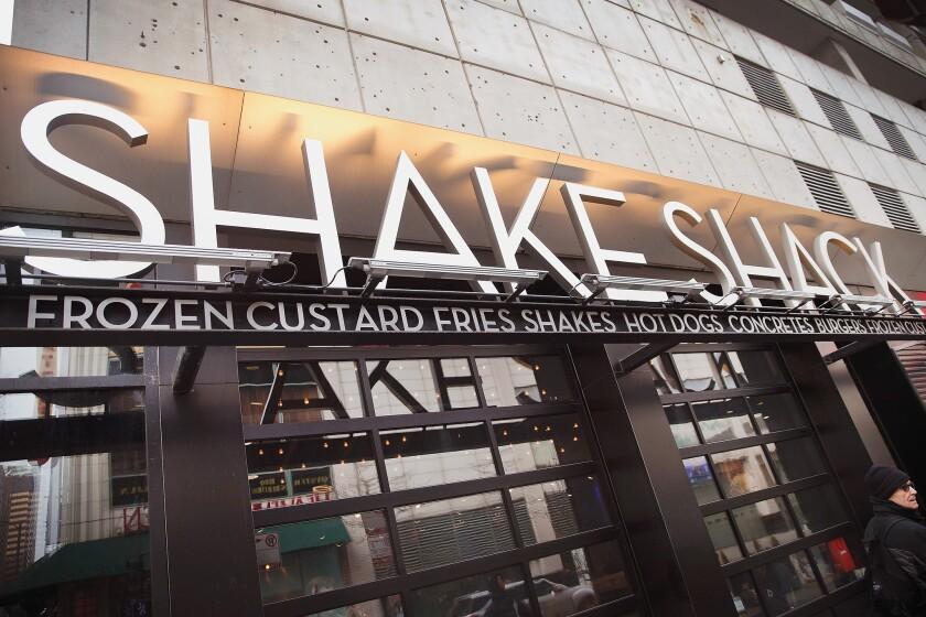 A Shake Shack in Las Vegas.
