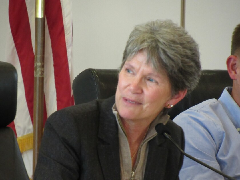 "Mountain Empire Unified School District Superintendent Kathy Granger signed an agreement allowing her district to collaborate with Grossmont-Cuyamaca Community College District and the Grossmont Union High School District. Granger said kids in the rural East County area ""want to be able to do the same things as the other kids."""
