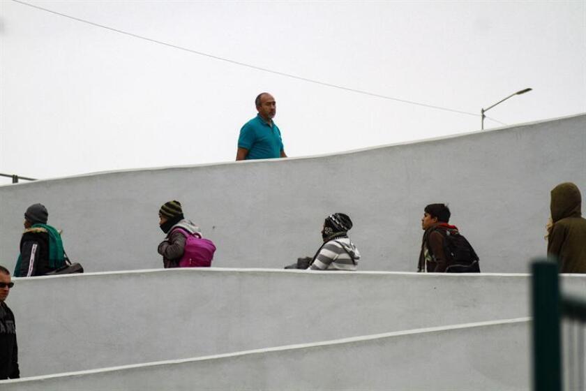 A finales del pasado marzo, Tapachula fue el punto de inicio de una multitudinaria caravana de migrantes centroamericanos que también partió rumbo a Estados Unidos con unos 1.200 participantes. EFE/Archivo
