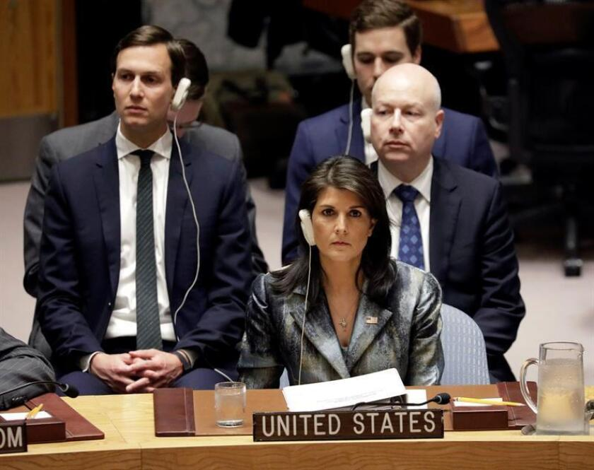 Estados Unidos circuló hoy al resto de países de la ONU un borrador de resolución para condenar las acciones del movimiento islamista palestino Hamás, un texto que será votado previsiblemente la próxima semana por la Asamblea General. EFE/ARCHIVO