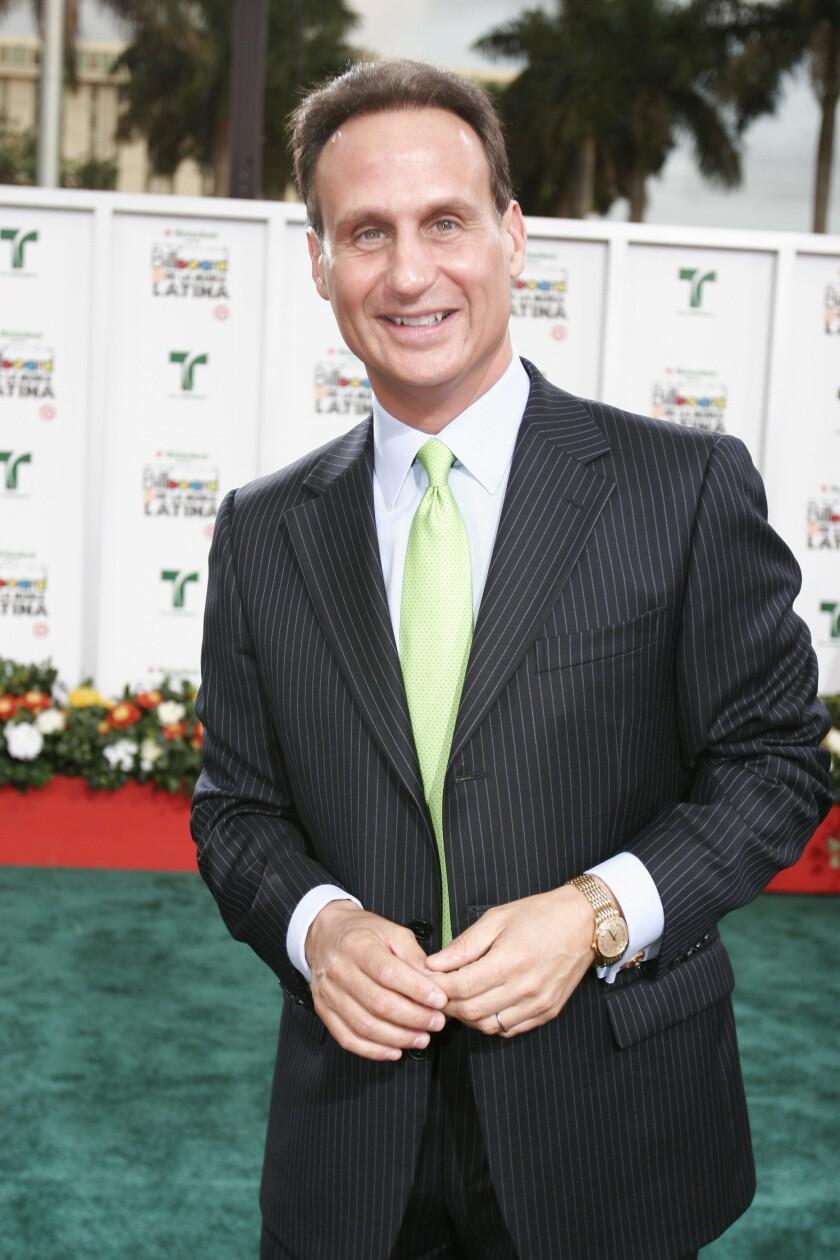 Fotografía de archivo del presentador cubano americano de Telemundo Jose Diaz Balart en Miami, Florida.