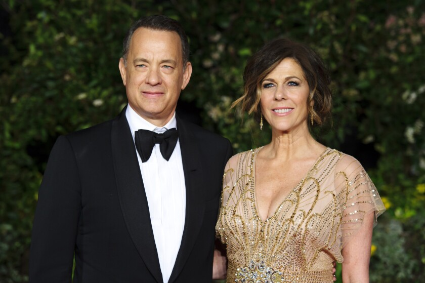 Tom Hanks and Rita Wilson are still quarantined in Australia, and she, at least, is going a bit stir crazy.