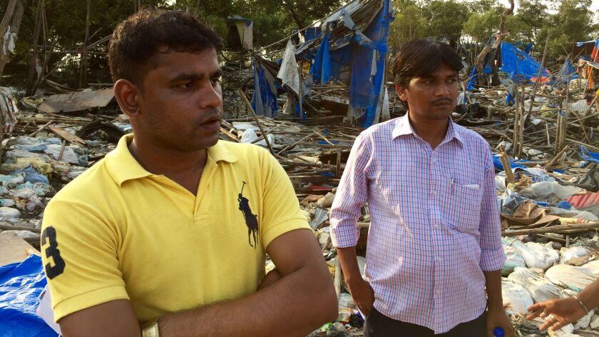 india slum demolition