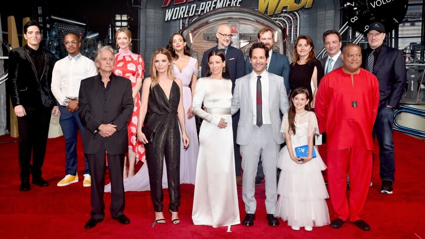 """Los Angeles Global Premiere For Marvel Studios' """"Ant-Man And The Wasp"""""""