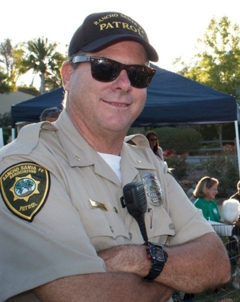 Chief Matt Wellhouser is in his 35th year with the Rancho Santa Fe Patrol. Courtesy photo
