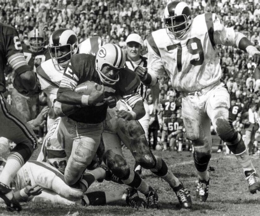 """""""He was the best pass rusher I ever saw. He had a very nimble body for a guy his size,"""" Cincinnati Bengals radio analyst Dave Lapham said of the 6-foot-4, 270-pound Coy Bacon."""