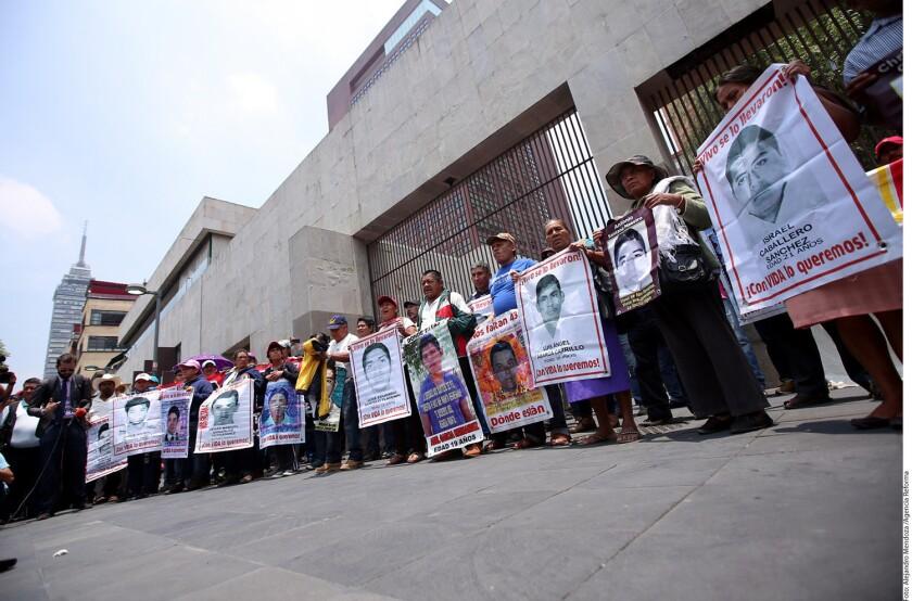 El vocero Felipe de la Cruz afirmó que padres de los 43 normalistas desaparecidos no quieren llegar a los dos años del caso sin saber dónde están los jóvenes y qué pasó con ellos.