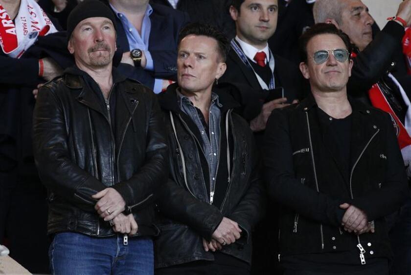 """La banda irlandesa U2 anunció hoy una gira por Norteamérica y Europa para celebrar el 30 aniversario de """"The Joshua Tree"""", el legendario quinto álbum de la formación. EFE/ARCHIVO"""