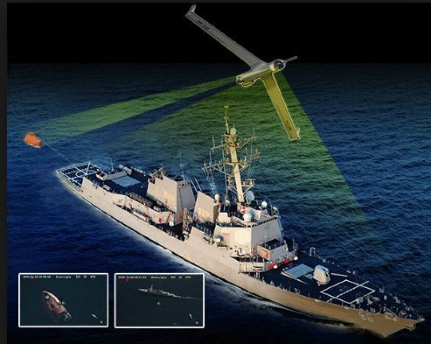 The Navy uses ScanEagle as one of its tools to combat piracy.