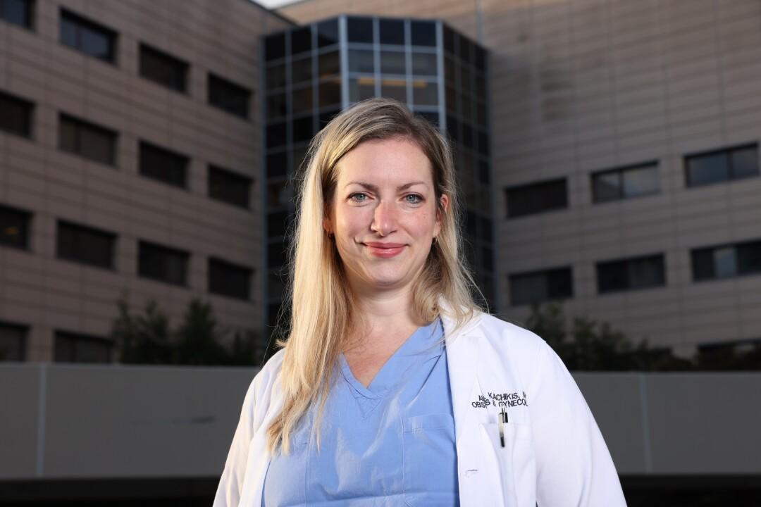 Dr. Alisa Kachikis at the University of Washington Medical Center
