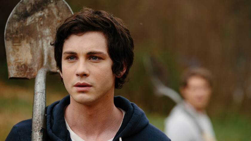 "Logan Lerman in the movie ""The Vanishing of ""Sidney Hall."""