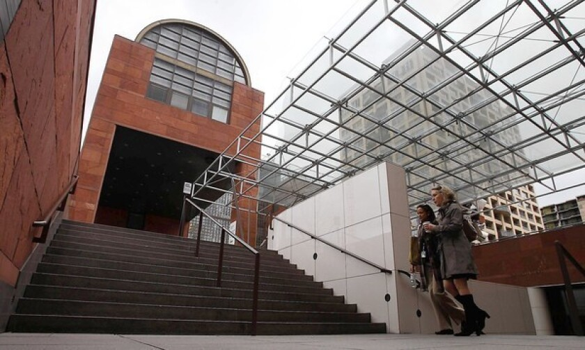 The Los Angeles Museum of Contemporary Art is facing a loss of funds from Eli Broad.