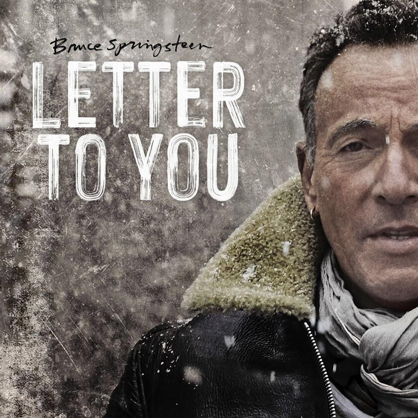 """la portada del nuevo álbum de Bruce Springsteen, """"Letter To You"""","""