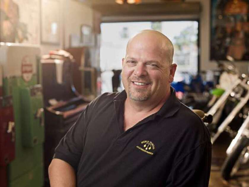 """Rick Harrison, star of History's """"Pawn Stars,"""" is set to get married."""