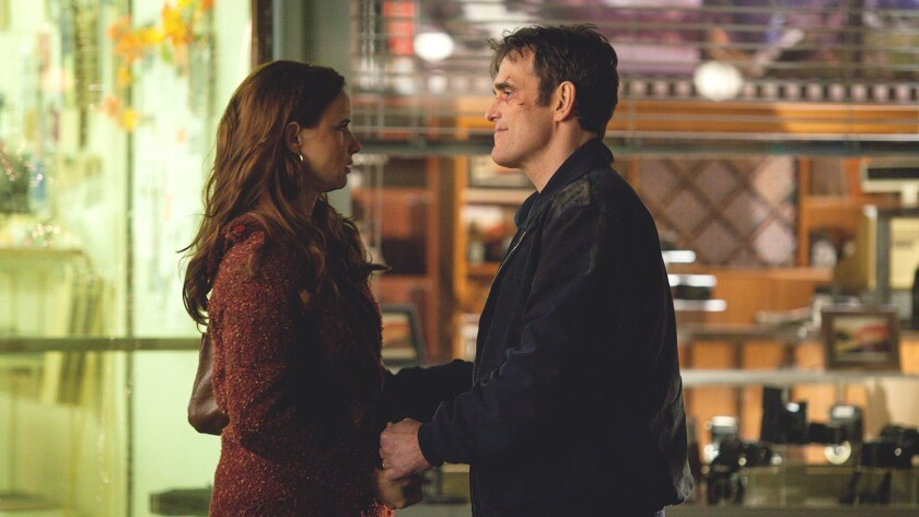 "Matt Dillon and Juliette Lewis in ""Wayward Pines"" on Fox."