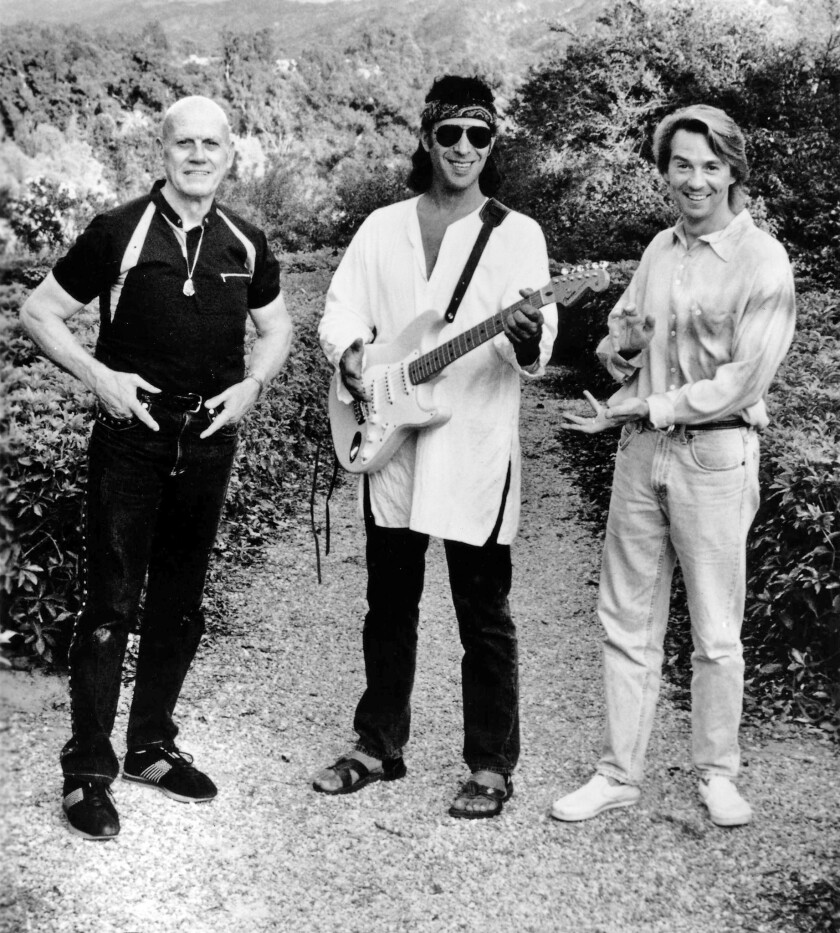 The band Spirit, from left, Ed Cassidy, Randy California and Scott Monahan.