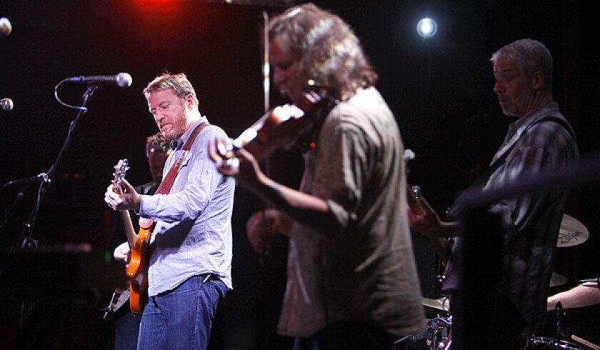 Camper Van Beethoven celebrated their 30th anniversary with a show at the Troubador on Saturday night.