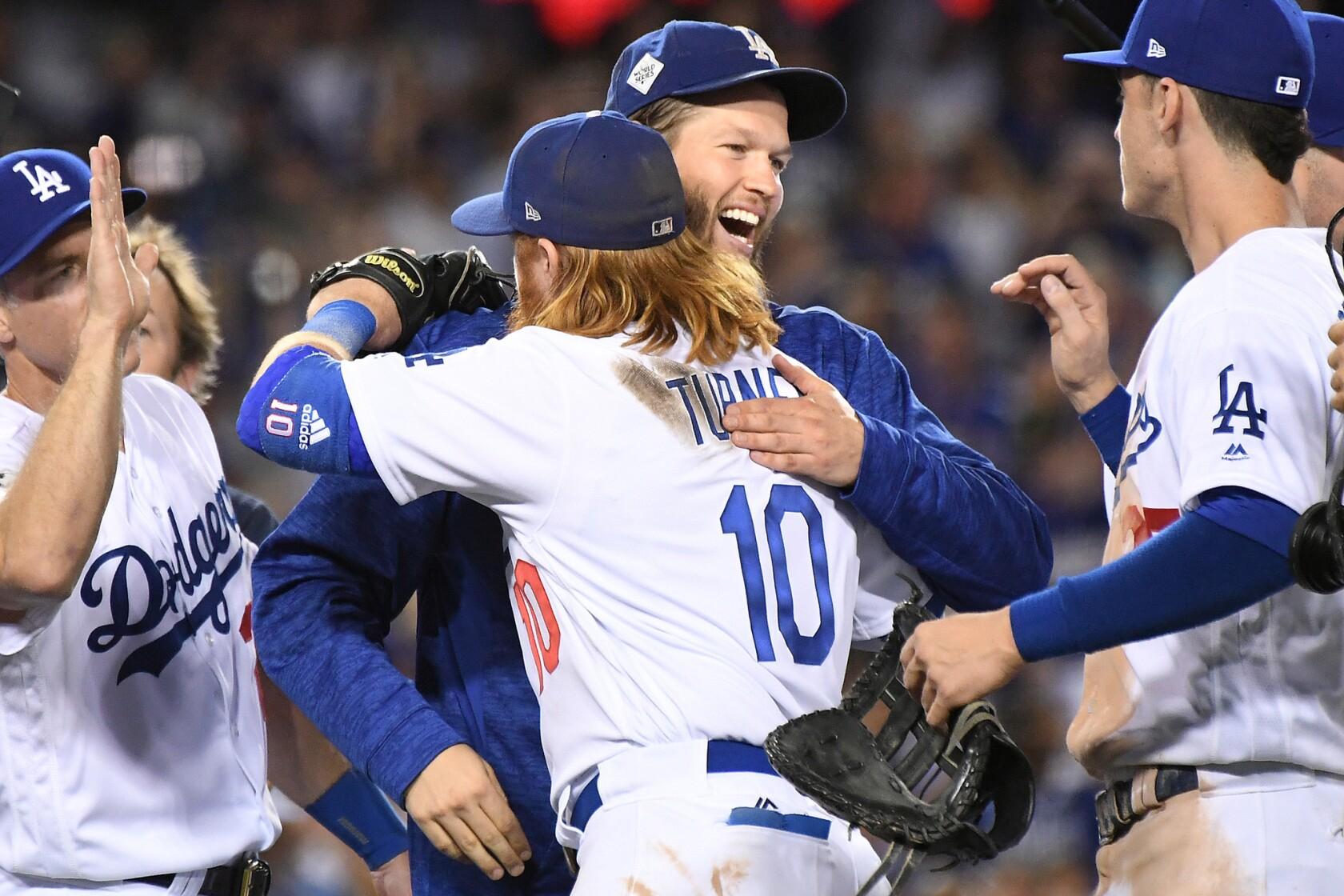 watch 523cf 97541 Dodgers' 'gamesmanship' before start of World Series strikes ...