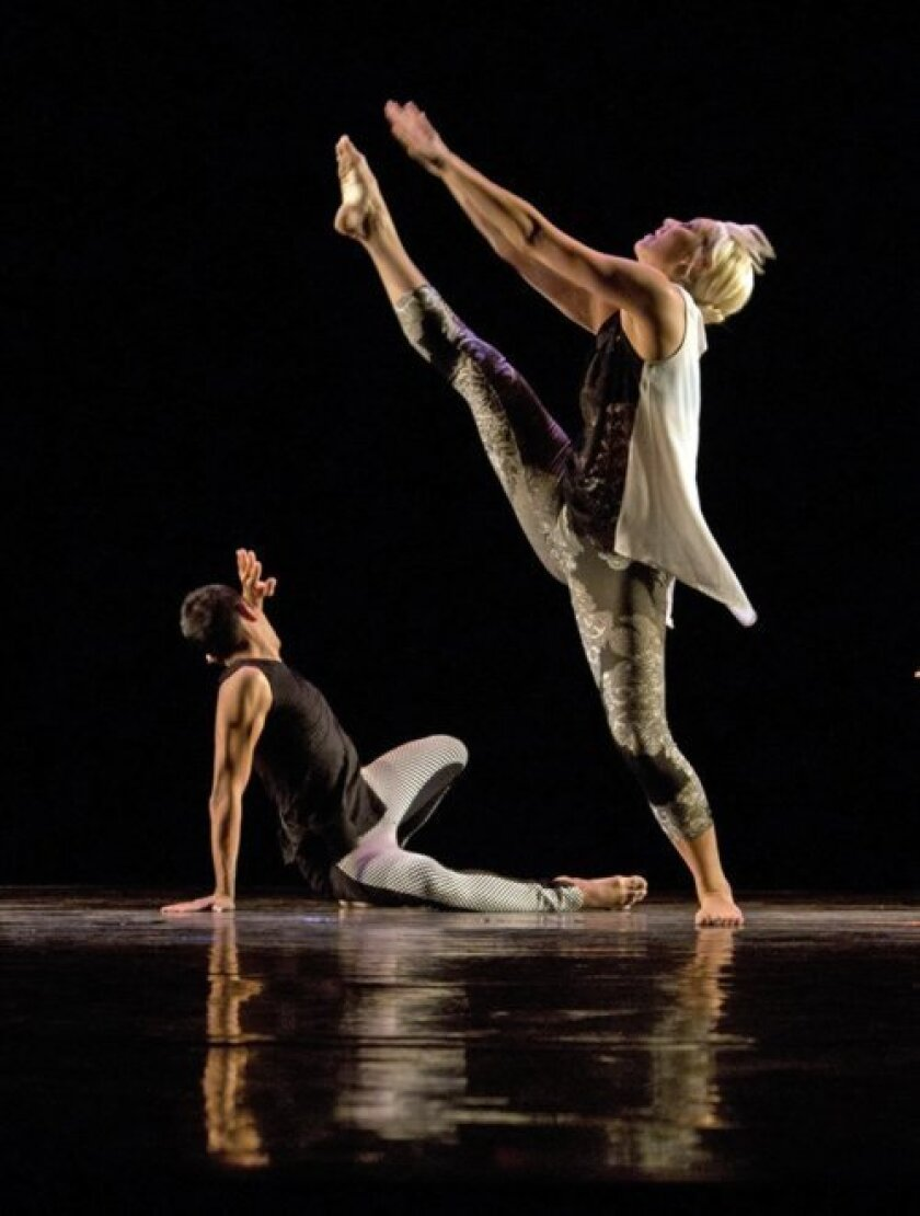 Malashock dancers will perform with Art of Élan musicians April 17-19 at UC San Diego's Mandell Weiss Theatre. Courtesy