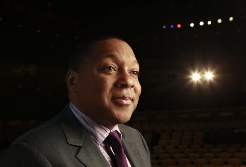 """""""Writing for another musician allows me to learn something from them"""": Wynton Marsalis, seen here in 2010,"""