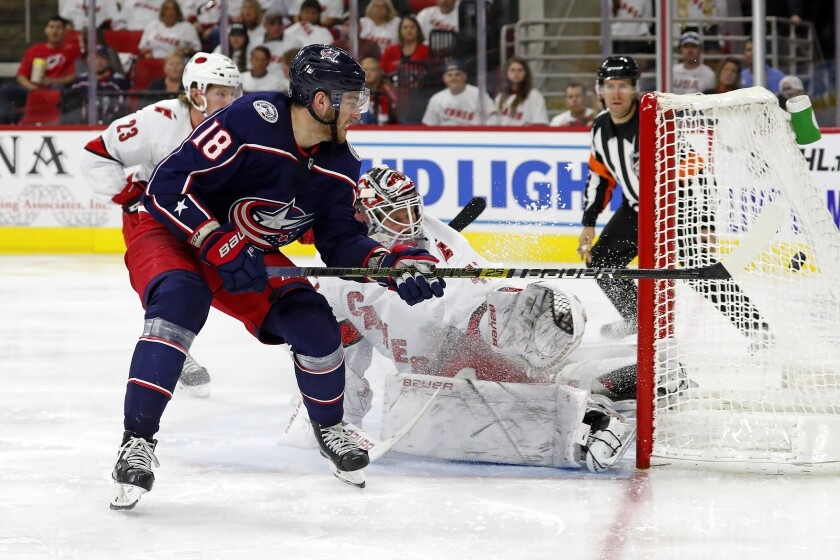 Blue Jackets Hurricanes Hockey