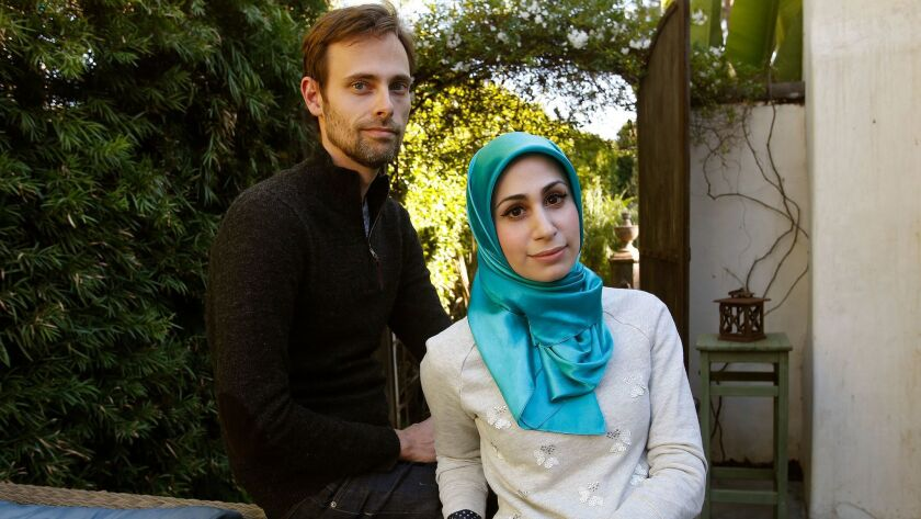SANTA MONICA, CA-DECEMBER 26, 2013: Ransom Riggs and Tahereh Mafi are bestselling authors of young a