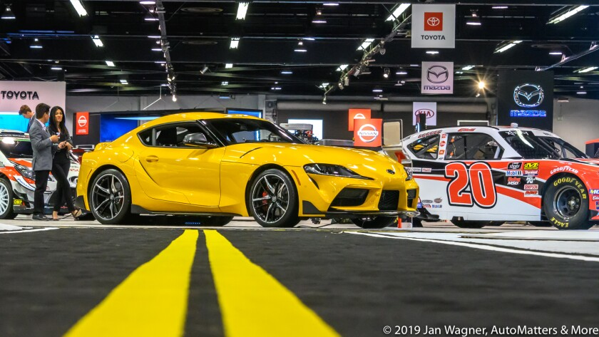 Toyota GR Supra at Orange County Auto Show