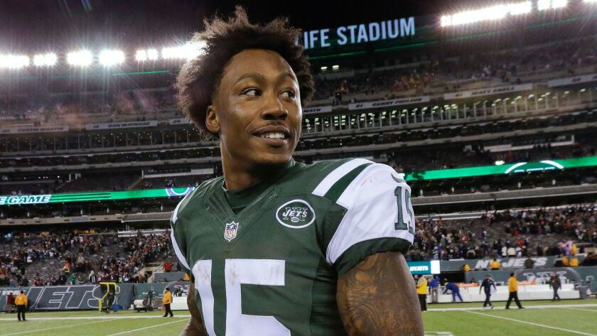 Veteran wide receiver Brandon Marshall has signed a two-year contract with the New York Giants.