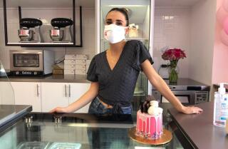 La repostera y empresaria Dany Flowers en su Cake Bar