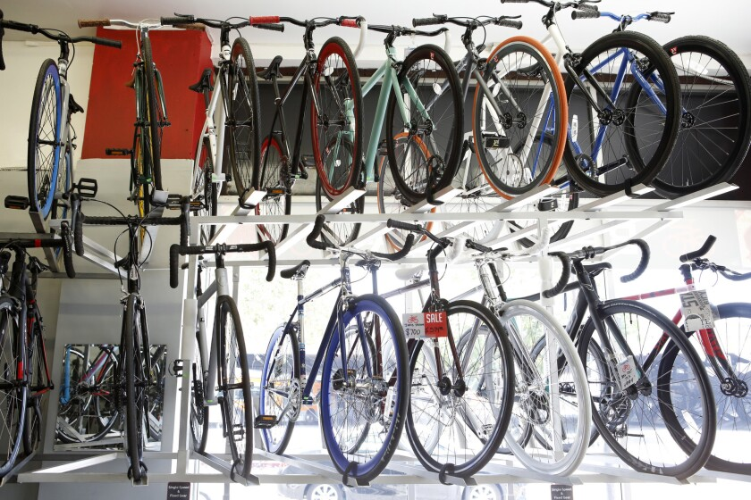 A handful of Southern California companies are selling cheap fixies imported from China.