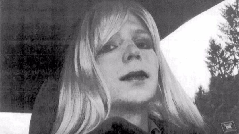 Chelsea Manning is expected to be free in May.