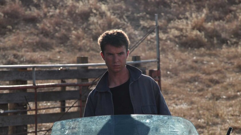 "Will Brittain in a scene from ""Desolate."" Credit: UnCork?d Entertainment"
