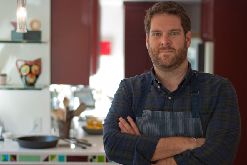 Micah Wexler, chef and co-owner of Wexler's Deli at Grand Central Market in downtown L.A.