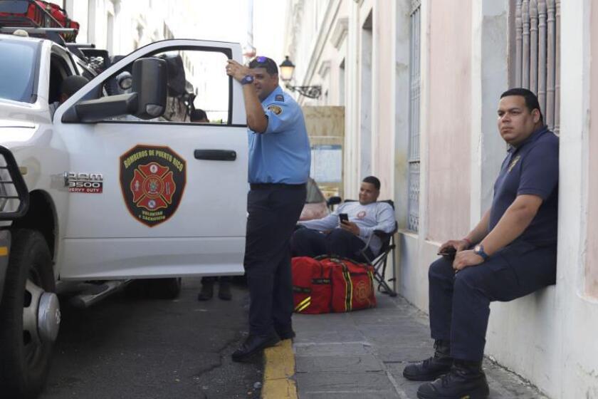 En un comunicado, la policía indicó que los hechos tuvieron lugar este lunes por la mañana en la Academia de Bomberos, situada en la avenida Pedro Albizus Campos, de Salinas. EFE/Thais Llorca/Archivo