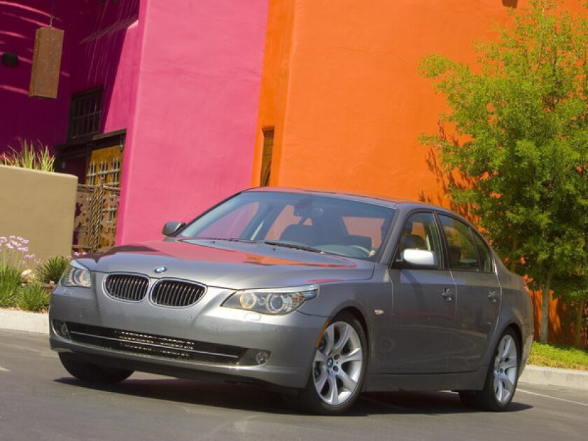 BMW will recall 134,000 5-series sedans to fix taillight flaw
