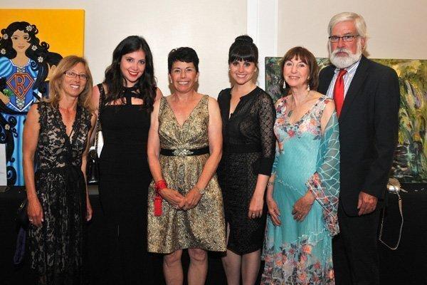 Rugh Faye, Sarah Haydu, Lee Haydu (candidate), Michelle Haydu, Ann Feeney, Don Mosier