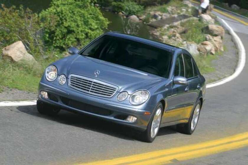 Feds probe fuel leaks in about 250,000 Mercedes-Benz E-Class cars