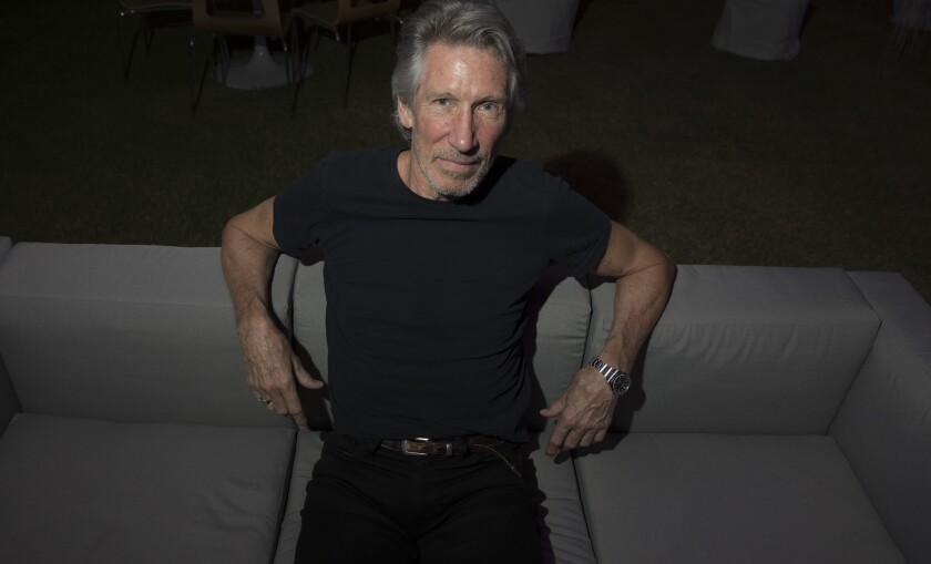 British rocker Roger Waters