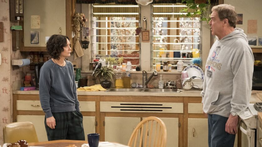 Sara Gilbert and John Goodman will carry on in the Conner household with Roseanne Barr next season.