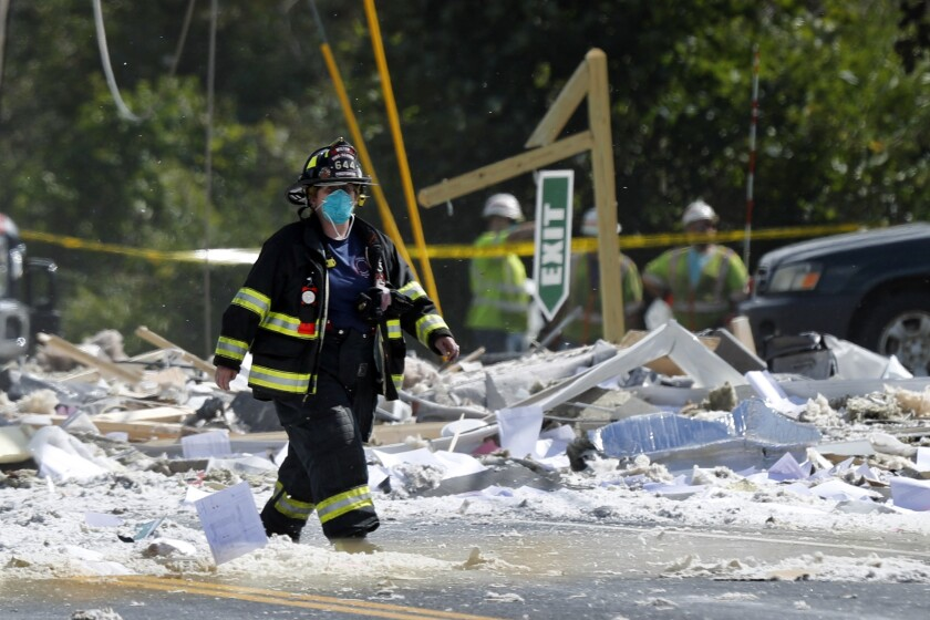 Building Explosion Maine