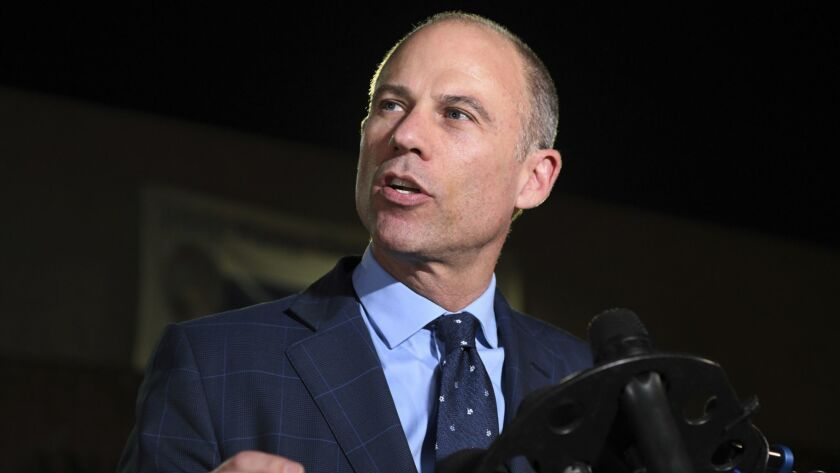 An Orange County judge denied a request by Michael Avenatti to lift his order approving the eviction of his law practice from its Newport Beach offices for nonpayment of several months' rent.