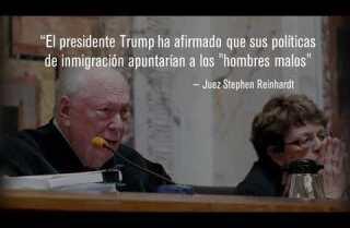 Juez Federal critica fuertemente las deportaciones de Trump