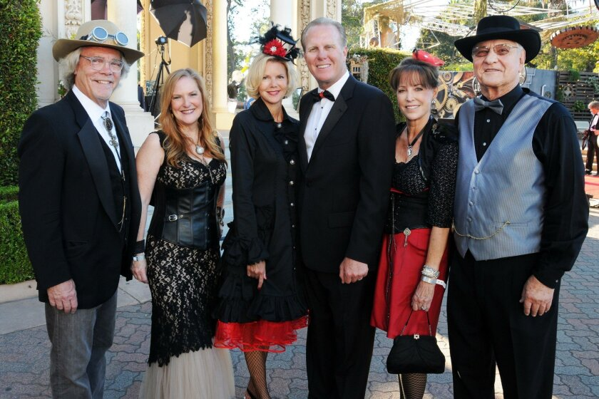 Doug Bob Salt, Patti Judd; Katherine and Mayor Kevin Faulconer, Ellen and Dr. T.K. Bryson